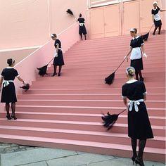 Stairway_to_Heavon_Pink_French_Maids_ Louis_Vuitton_2014