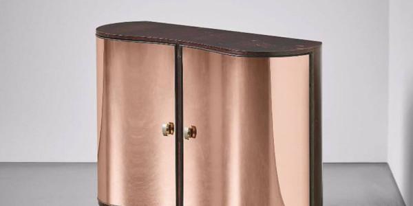 pear_wood_mirrored_glass_cabinet_pietro_chiesa_ fontanaarte