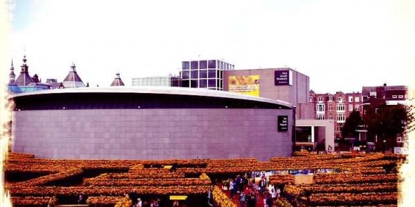 van_gogh_museum_zonnebloemen_labyrint