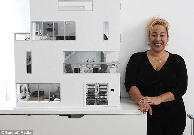 Miniatuur Design Meubels : Formaat miniatuur bed bjd msd minifee mnf meubels etsy