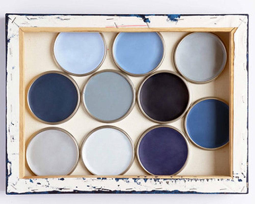 Trendkleur Diep Blauw : Verf trendkleur 2017 bureau rosalisavilla