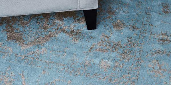 vloerkledenwinkel katherine carnaby vintage blue