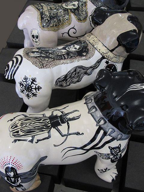 Getattoeerde Handen & Honden. Ink Ink Baby Evelyn Tannus