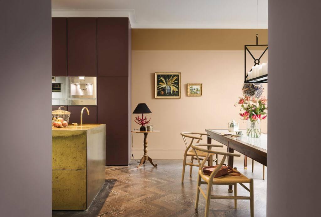 Kleurtrend Roze Interieur : Heart wood flexa trendkleur van 2018 bureau rosalisavilla