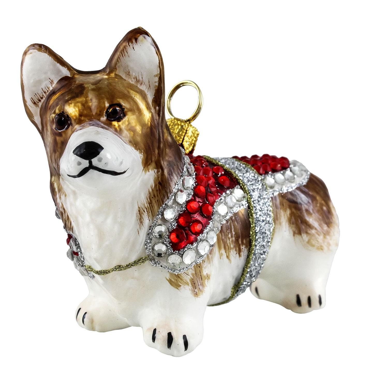 xmas_kerstbal_ornament_hond_pembroke_welsh_corgi_kristal_jas